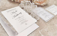Wedding Invitations by Elle and Em Event Design