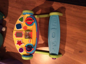 4 in one activity baby toy