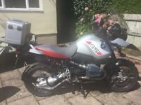 2004 BMW1150GSA mot until August 2018