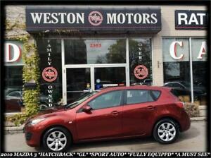 2010 Mazda MAZDA3 HATCHBACK*SPORT*AUTO*FULLY LOADED*