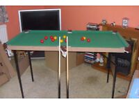 Childs Pool/ Table Tennis Table