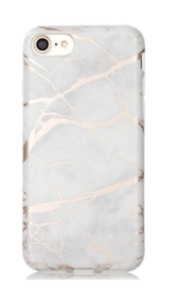 Rose Gold & White Marble Phone Case IPhone 6/6S