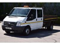 2.2 350 DRW 4D 100 BHP EURO 5 D/CAB RWD 6 SEATER COMBI TWIN WHEEL TIPPER 2013