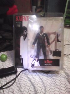 Scarface action figure trade for mens jewelry