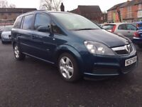 2007 VAUXHALL ZAFIRA CLUB 1.9 CDTI * FULL SERVICE HISTORY + 1 PREVIOUS OWNER + 7 MONTHS MOT**