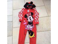 Girl's Minnie Mouse Onesie