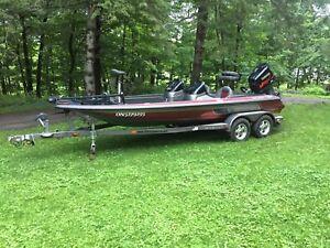 2002 skeeter ZX200 bass boat
