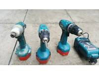 3 Makitta drills for sale