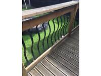 Decking railings