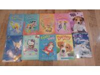 BUNDLE OF GIRLS PAPERBACK BOOKS SMOKE & PET FREE HOME