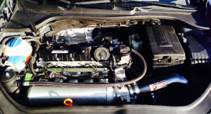 Intake C2 Motorsports et Catch Can oil Black Forest Industries