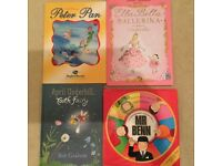 Selection of children's books X 4