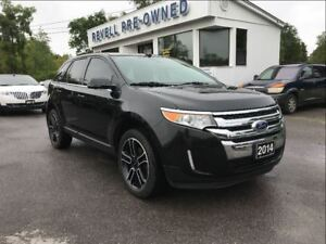 2014 Ford Edge Limited AWD  *Moonroof  Leather  Nav  20alloys
