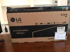 """29"""" LG UltraWide HD LCD Monitor Like New"""