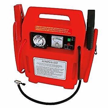 Car Battery Jumpstarter with Air Compressor 12 V 4 in 1