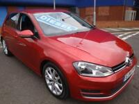 14 VOLKSWAGEN GOLF GT TDI 150 BHP 5 DOOR DIESEL £20 ROAD TAX *SATNAV*