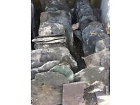 Westmorland green slates (one pallet)