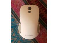 Logitech white USB mouse m560