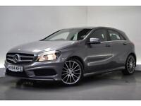 MERCEDES-BENZ A-CLASS 1.5 A180 CDI BLUEEFFICIENCY AMG SPORT [NAV] 5d 109 (grey) 2014