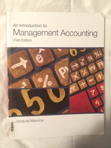 Managerial accounting 1st edition *good condition*