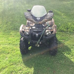 Yamaha grizzly 550 eps fi