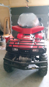 4 roues fourtrax 350 4x4 2003 COMME NEUF!!!!!