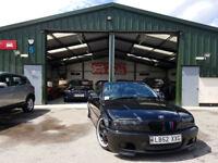 2003 BMW 325 ci M SPORT MANUAL PETROL NEW CLUTCH NEW SERVICE CONVERTIBLE