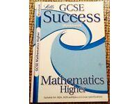 LETTS GCSE Success Higher Mathematics Workbook
