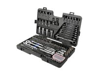 Brand new Halfords advanced 170 piece socket and ratchet spanner set