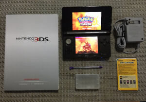 3DS_With Many 3DS Games_Pokemon Sun & Moon. Pikmin