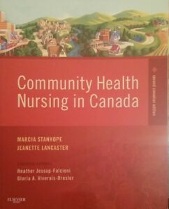 Community Health Nursing in Canada - Used As New