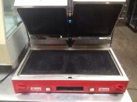 Double panini machine / contact grill