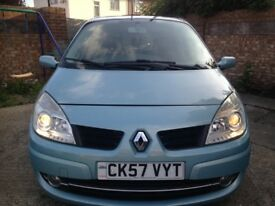 57 MODEL Renault SCENIC 1.6 MANUAL LONG MOT EXCELLENT CONDITION DRIVE SPOT ON
