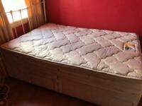 Double Divan Silent Night bed