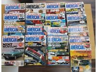 Classic American magazine Lot of 17 Magazines from July 1999 to November 2001 in good condition