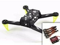 SPEDIX S250AQ FPV Racing Drone Frame + 4x ESC + distribution board - NEW IN BOX