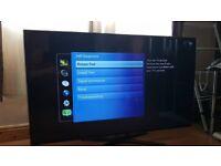 "SPARES / REPAIR 3D Samsung 55"" Lcd Smart HD Freeview / Freesat Tv + 2 Pair Of Glasses. UE55ES6540"