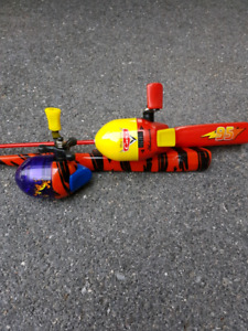 Kids Cars and Tigger fishing rods
