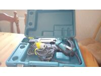 Used Makita 6843 Auto feed screw driver, 110 v, GWO, see photos & details