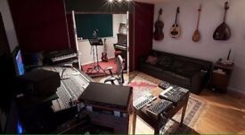 Studio with equipment available