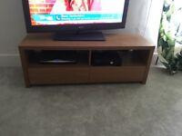 Tv cabinet - oak affect