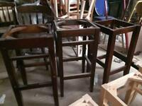 3 x high pub stool frames. New