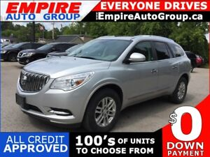 2013 BUICK ENCLAVE CONVENIENCE GROUP * REAR CAM * 7 PASS * BLUET