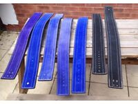 WEIGHTLIFTING BELTS - VARIOUS SIZES/COLOUR, £5 each