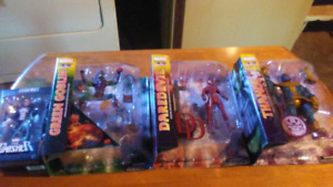 Brand new Marvel action figures