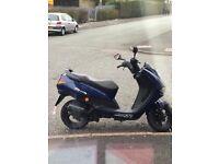 Peugeot elyseo 100cc reg as 50cc