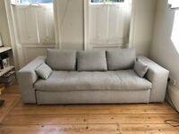 CONVERTIBLE 3 SEATS SOFA BED | like Brand New | from Habitat