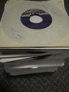 Vinyl 45 Singles - 70s and 80s Pop Records