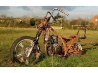 Motorcycle or Trike WANTED for project I collect Runner /Non runner Motorbike Motorcycles Salvage