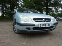 04 CITROEN C5 2.0 DIESEL ESTATE,MOT JAN 018,PART HISTORY,3 OWNERS FROM NEW,VERY RELIABLE TRANSPORT